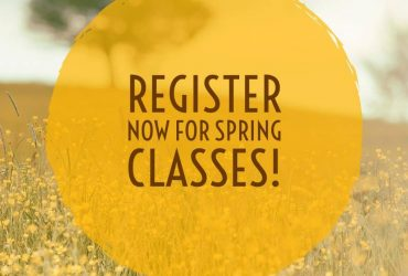 Spring Class Registration Now Open!