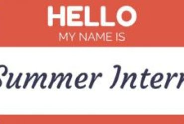 Summer Interns Apply Here!